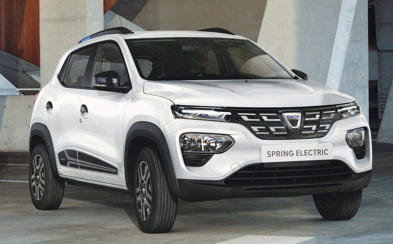 Dacia Spring är en ny bil som i grunden bygger på samma teknik som Renault Kwid.