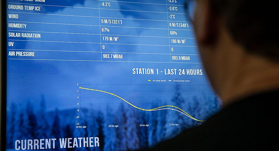 Under körningarna noteras alla temperaturer, vilka sedan korskörs mot resultaten. Minsta tveksamhet innebär att testmomentet körs på nytt i jakten på stabila resultat.