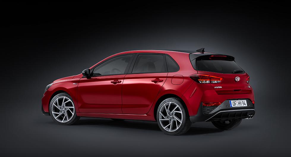 Hyundai i30 halvkombi.