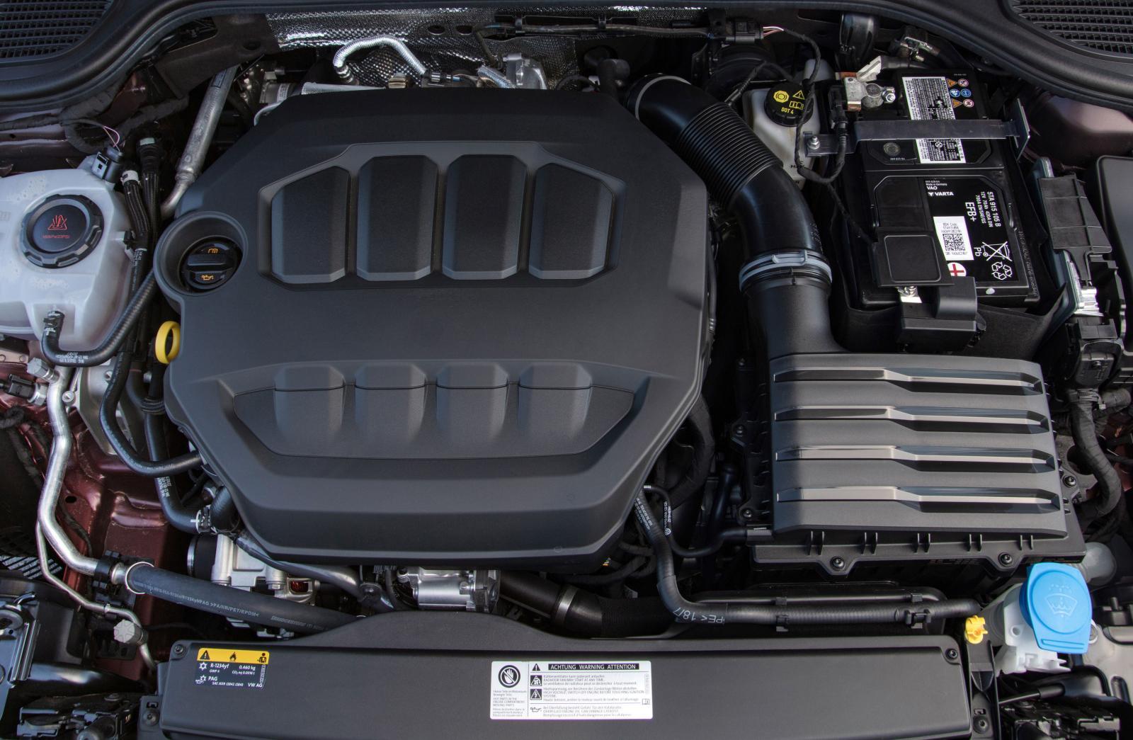 Turbofyran har fått uppdaterat insprutningssystem för sänkt förbrukning och lägre utsläpp.
