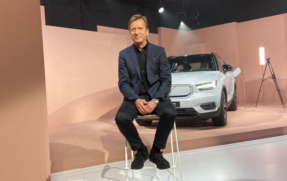 """""""Bara för att man har en mindre kostym behöver den inte vara i polyester"""", har Volvochefen Håkan Samuelsson tidigare sagt."""