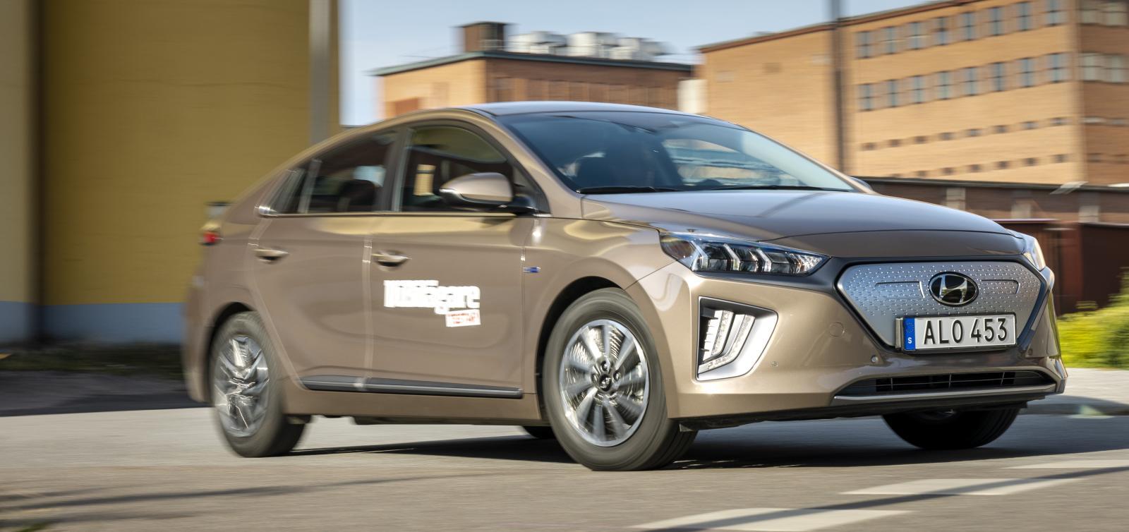 Hyundai Ioniq låg länge i topp när det gäller effektivitet. Nu är den omkörd, men levererar ändå imponerande låg förbrukning.