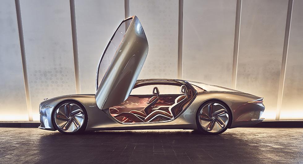 Bentley blir helt elektriskt märke