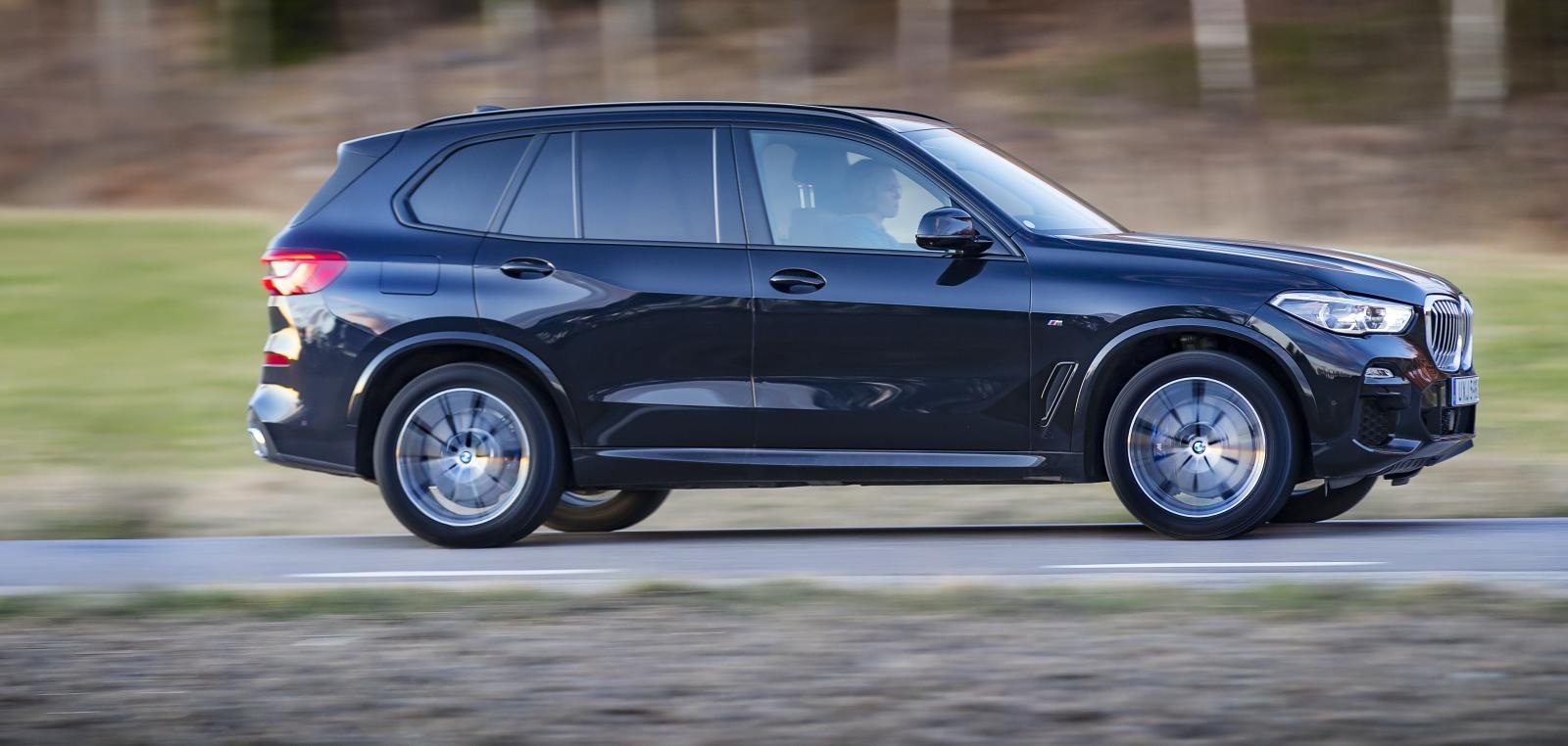 Åtta modeller från BMW påverkas, bland annat X5 xDrive45e. Foto: Niklas Carle