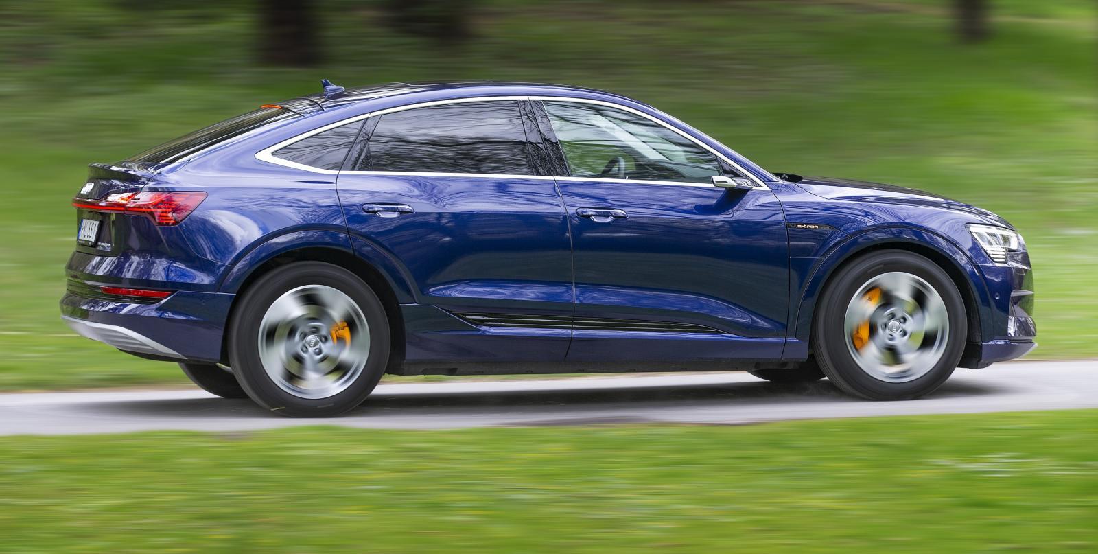Audis suv-modeller är törstigast på marknaden. Den slanka Sportback-versionen är dock en aning snålare på strömmen.