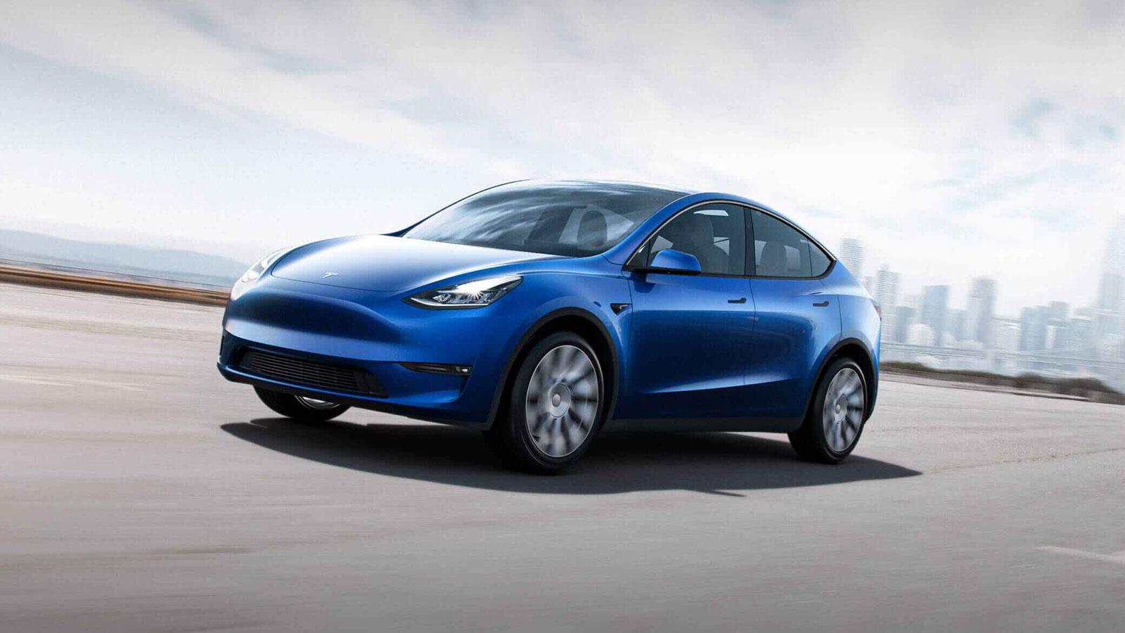 Tesla Model Y.