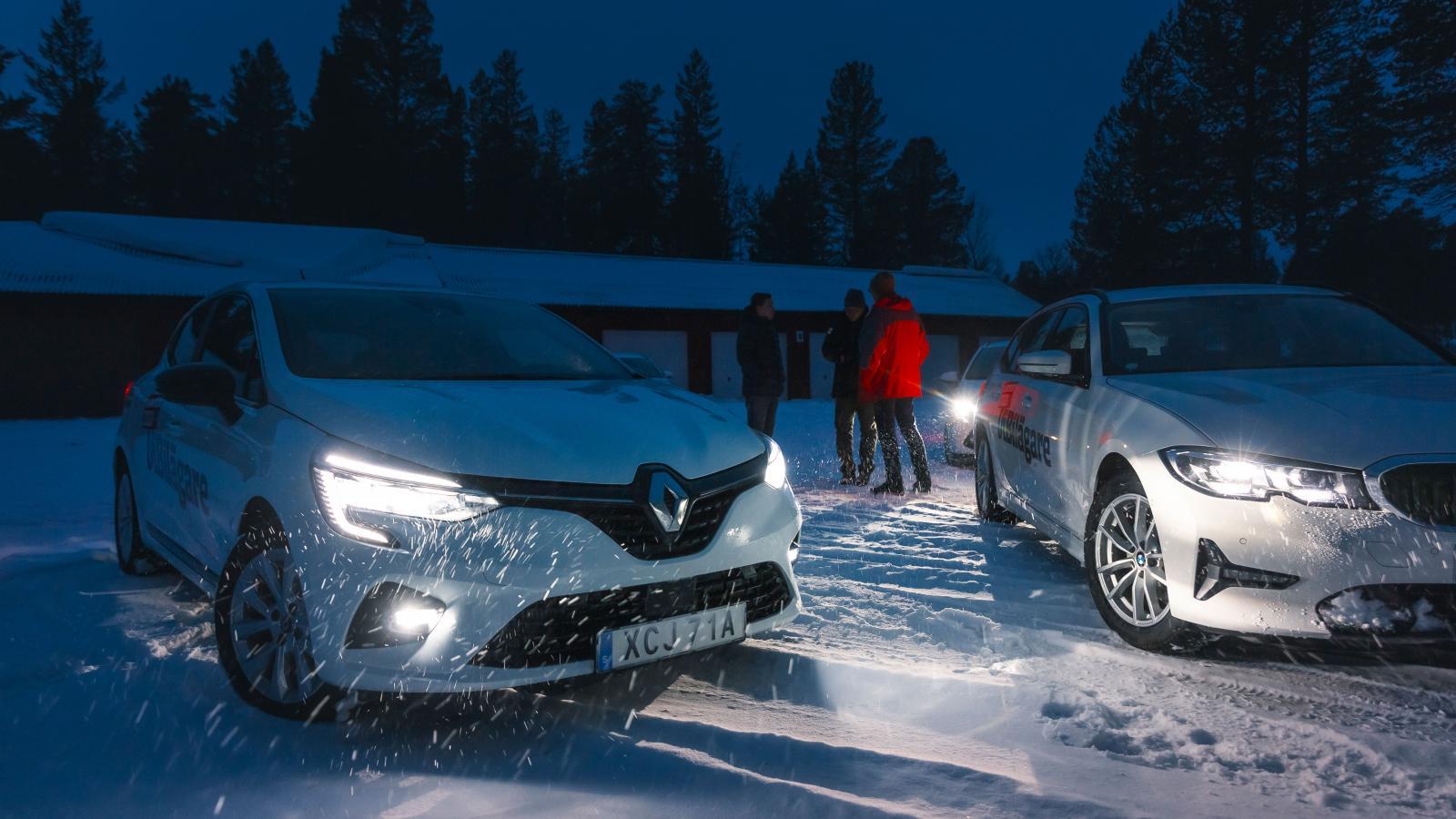 Alla av årets bilar var utrustade med LED-strålkastare. Dock med varierande styrka.
