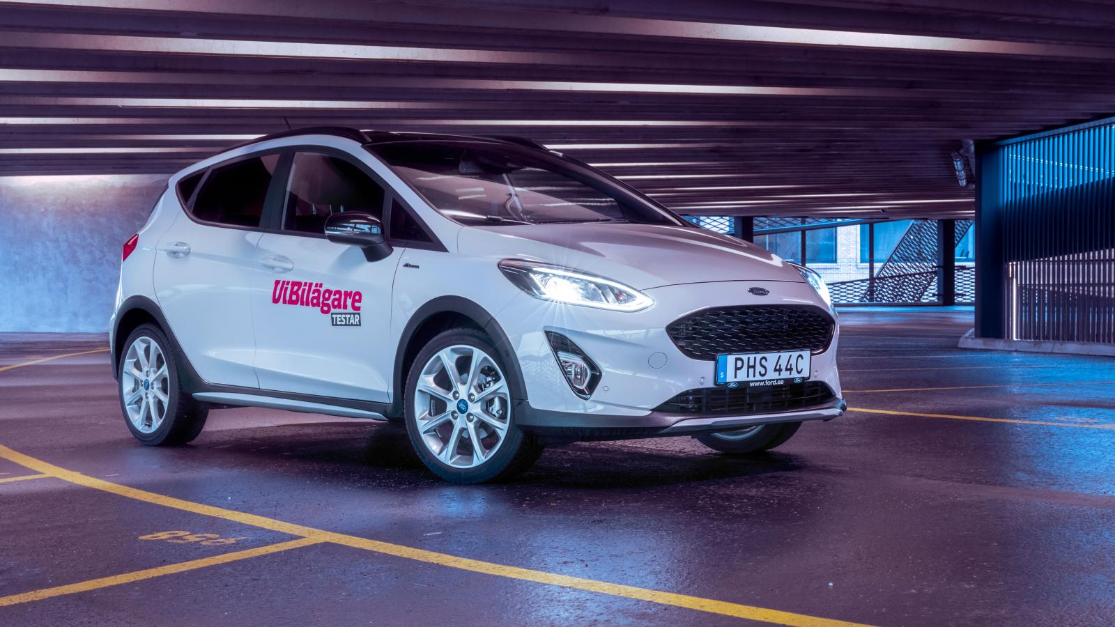 Ford Fiesta Active 1,0T Ecoboost MHEV