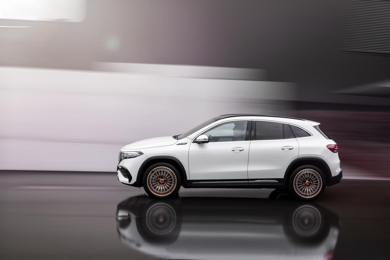 Premiär för Mercedes EQA – här är nya elbilen som utmanar Volvo