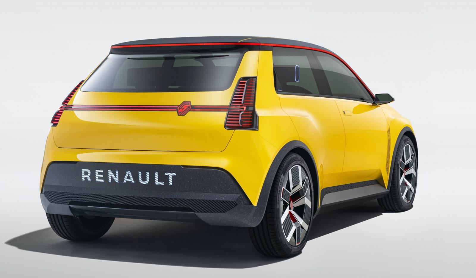 Renault väcker liv i den lilla småbilen 5 från 1970-talet. Nu blir den helt eldriven.