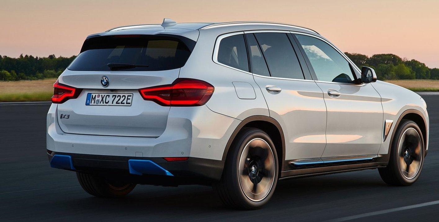 BMW iX3 har ganska låg förbrukning i förhållande till sin storlek.