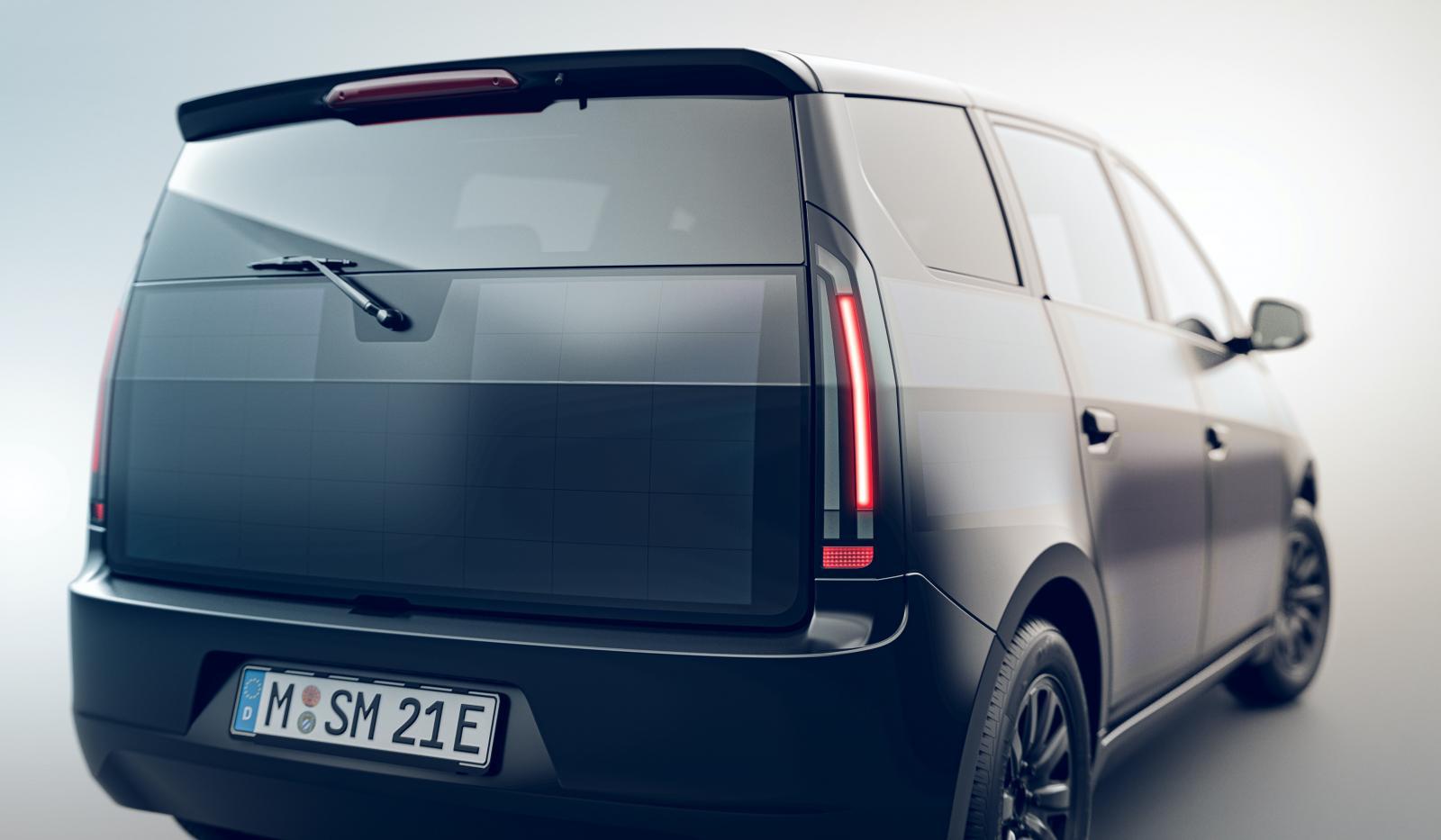 Solcellsbilen Sono Sion visad igen – siktar på produktion om ett år