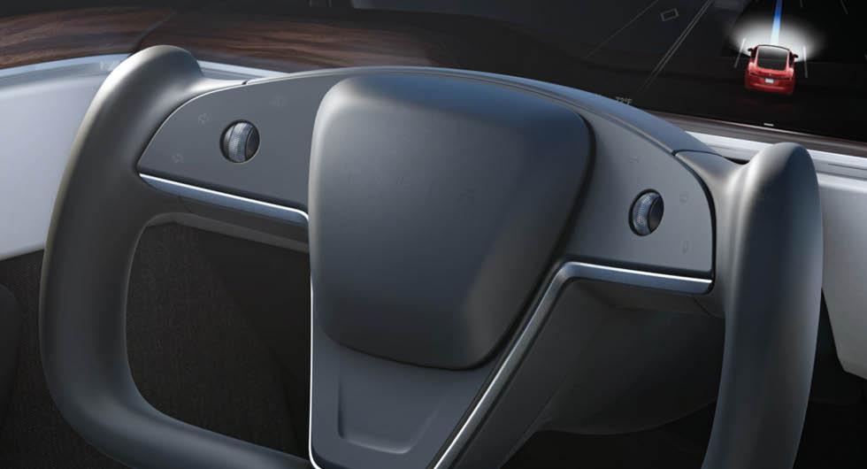 Teslas nya ratt väcker känslor – men blir inte förbjuden