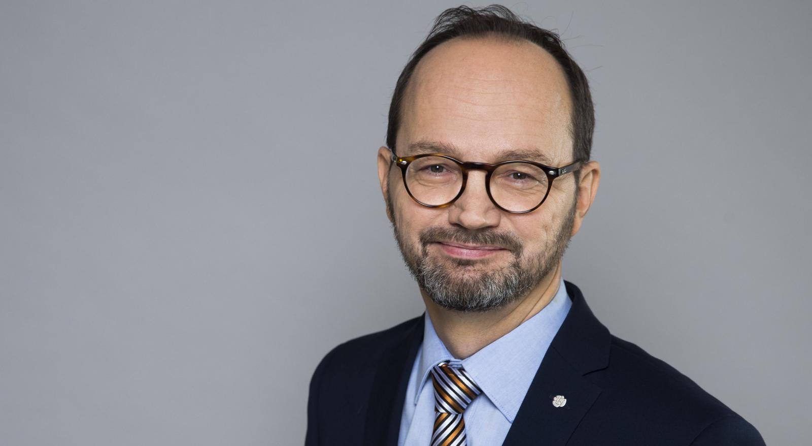 Tomas Eneroth (S) är infrastrukturminister. Foto: Kristian Pohl