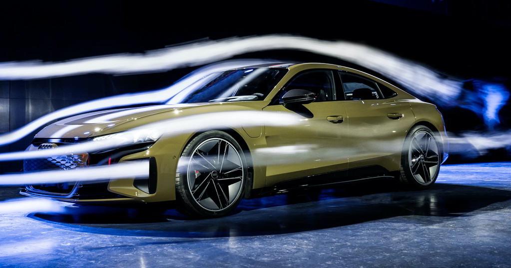 Luftmotståndet är en viktig detalj i elbilar eftersom bättre aerodynamik ger lägre förbrukning och därmed längre räckvidd. Audi e-tron GT har en luftmotståndskoefficient på 0,24, exakt samma siffra som för Tesla Model S.
