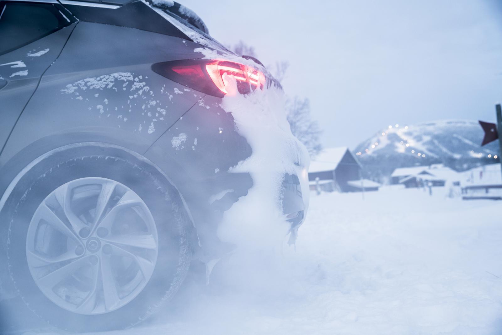 På vintern får värmarna ofta jobba hårt för att värma upp motorn.