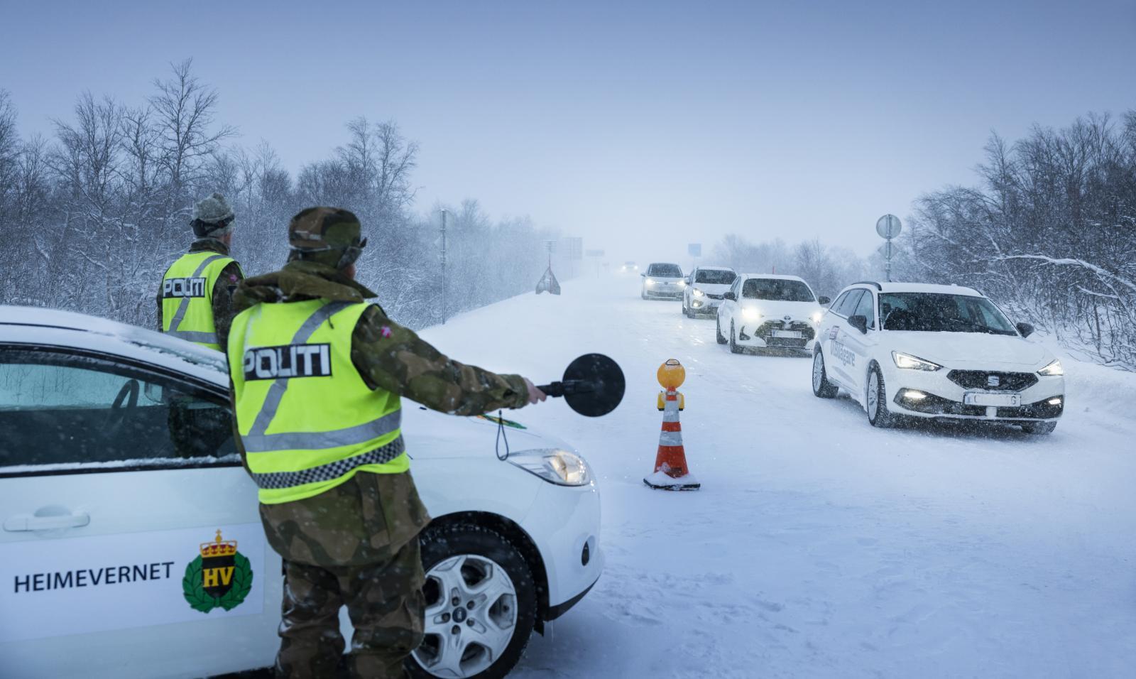Stopp där, söte bror! 2021 var året då gränsen till Norge hölls stängd.