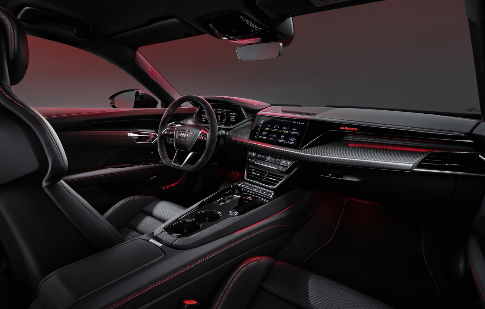 """""""Interiören i Audi e-tron GT är befriande gammalmodig"""""""