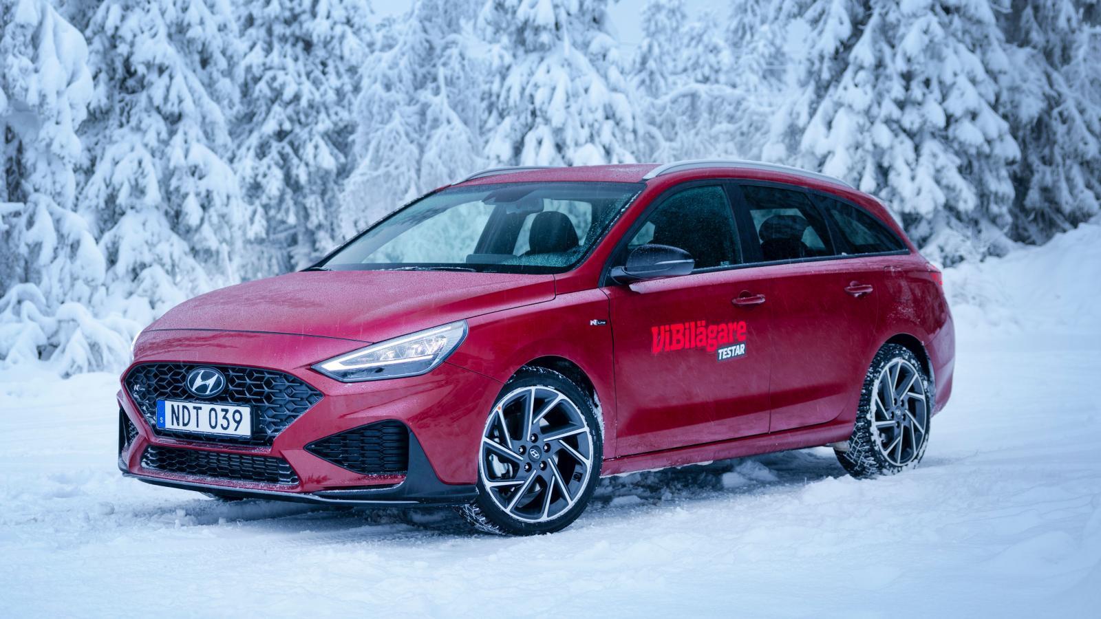 Test: Hyundai i30 Kombi, Seat Leon ST och Volkswagen Golf Sportscombi (2021)