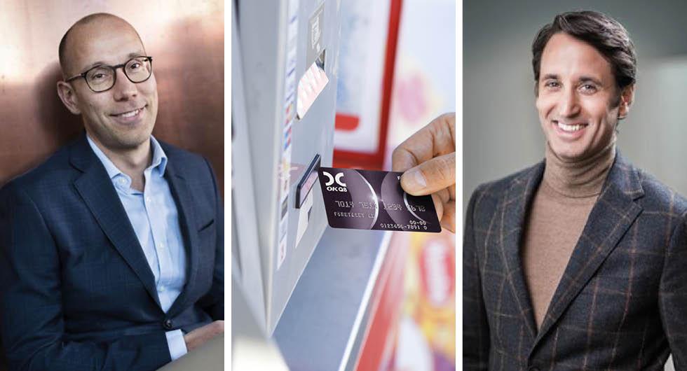 Fredrik Jonsson på Skellefteå Kraft öppnar för att komplettera med mobila snabbladdare under sportlovet. Det kommer gå att betala med kreditkort vid snabbladdarna, enligt OKQ8:s bränslechef Erik Moglia.
