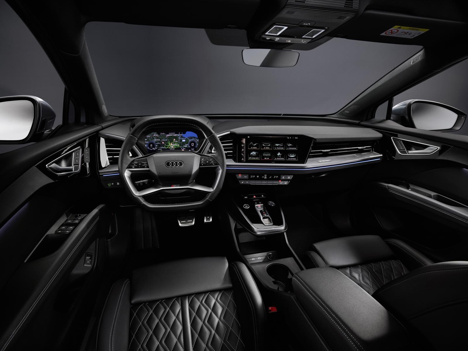 Nya detaljer om Audi Q4 e-tron: Större och rymligare än Volvo XC40