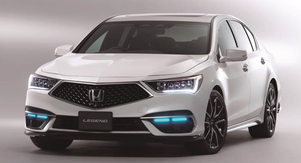 Honda Legend blir självkörande på nivå 3 – smiter före konkurrenterna