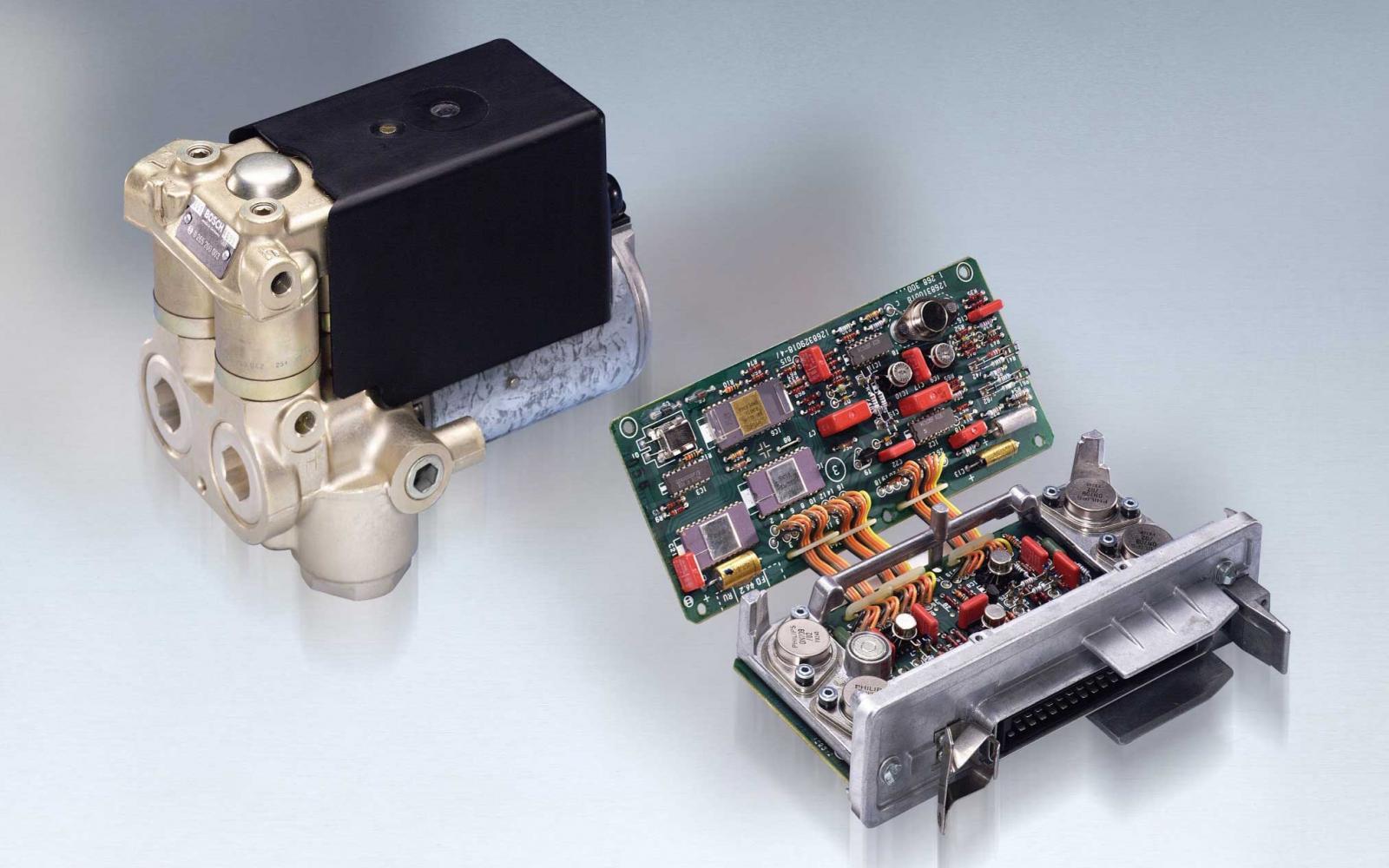 ABS/ESP-enheten har dyra reservdelar – men går att renovera. Foto: Bosch