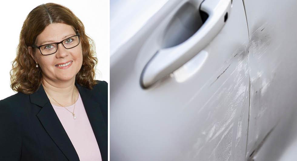 Helen Bernerfalk, jurist på Konsumenternas Försäkringsbyrå, ser både för- och nackdelar med dagens vagnskadegaranti.