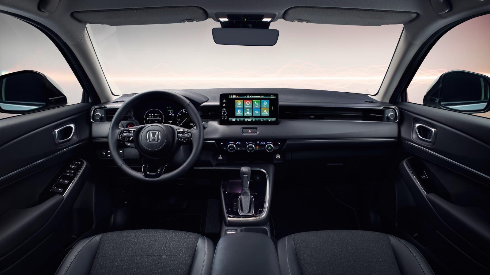 Infotainmentsystemet hämtas från Honda e men skalas ned till en mindre skärm.