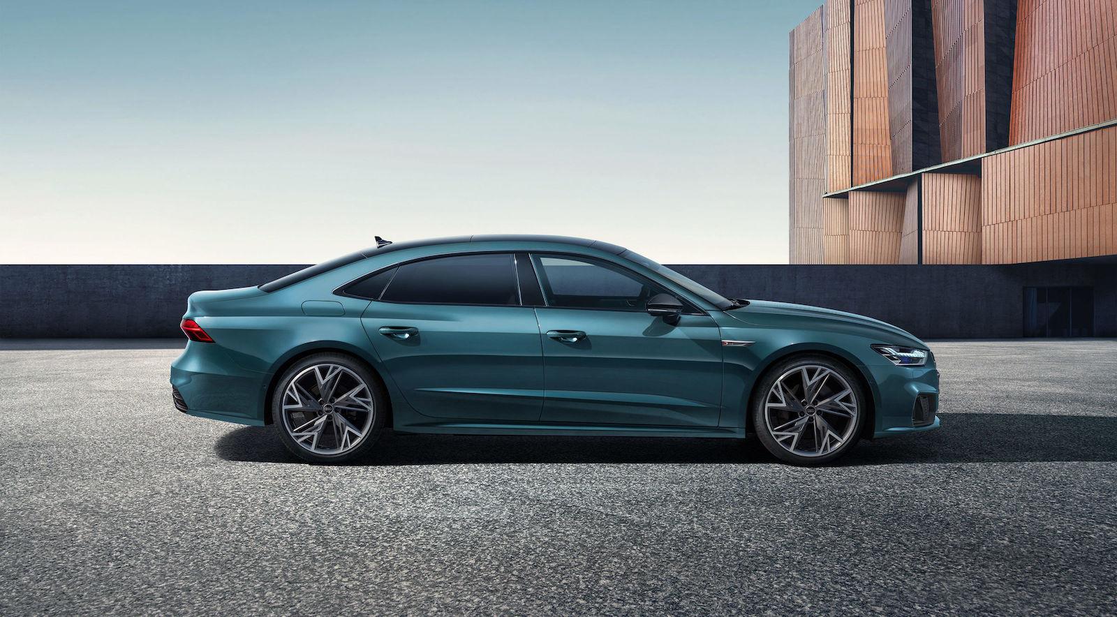 Audi lanserar förlängd A7 sedan i Kina