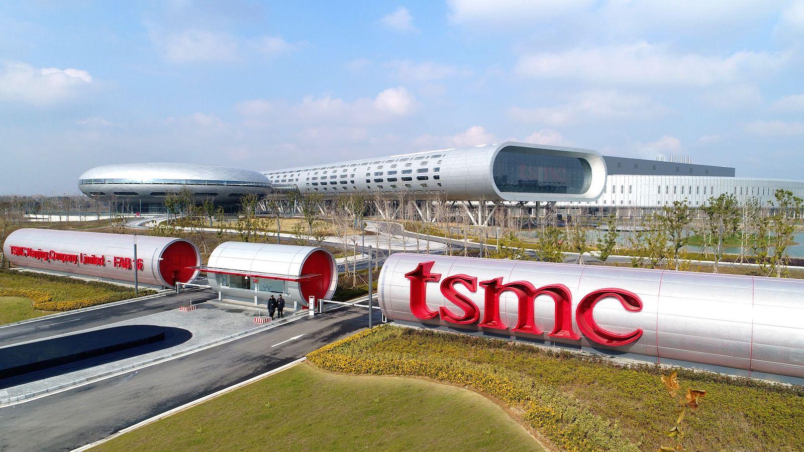 TSMC:s anläggning i Taiwan. Foto: TSMC