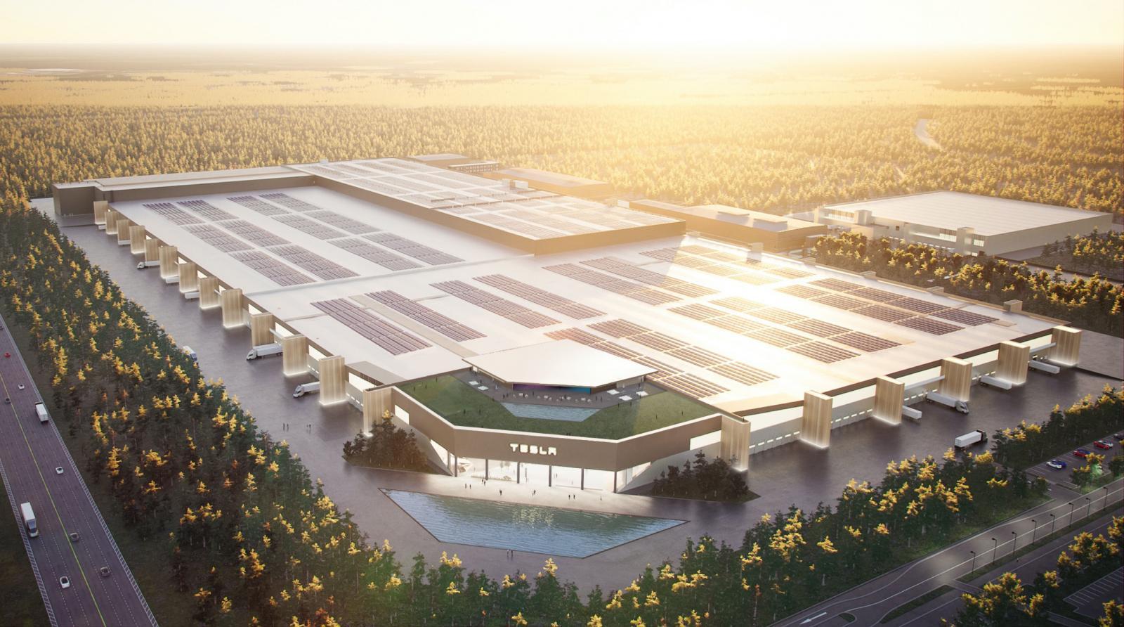 Teslas nya fabrik utanför Berlin försenas till slutet av året.