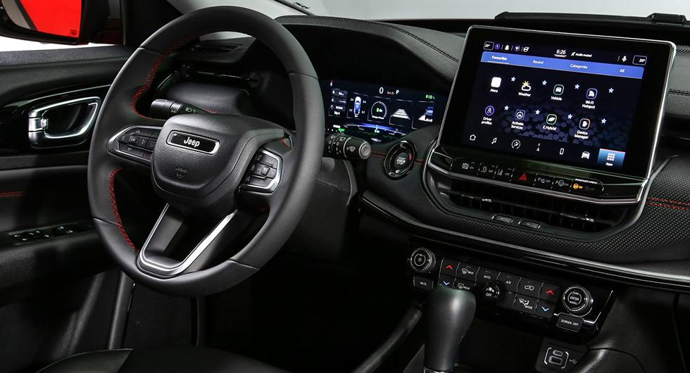 Jeep Compass uppdateras