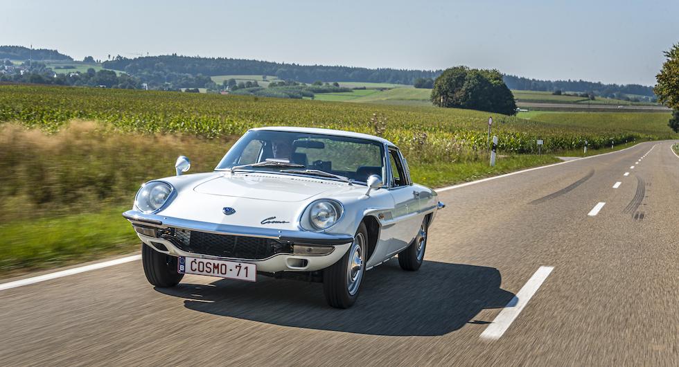 Tuffa modellen Cosmo Sport var starten till Mazdas satsning på Le Mans.