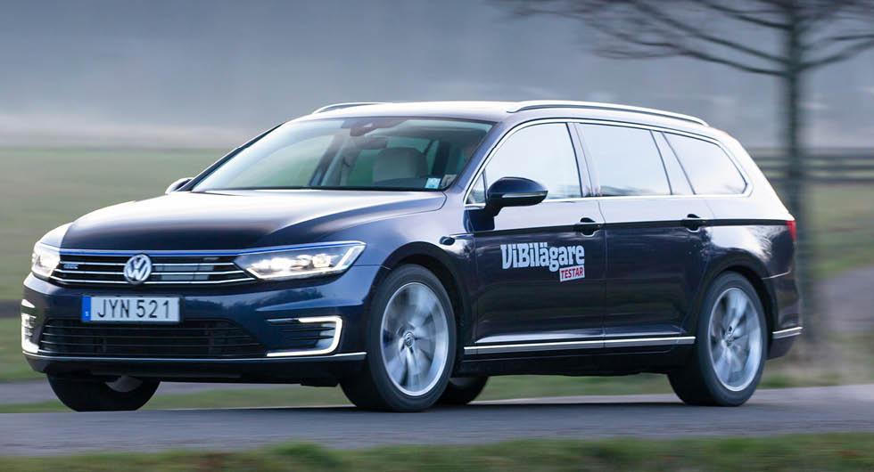 Populära laddhybriden Volkswagen Passat GTE är dyrare att äga än en bensindriven Passat. Men siffran beror till stor del på hur mycket ägaren laddar sin bil.