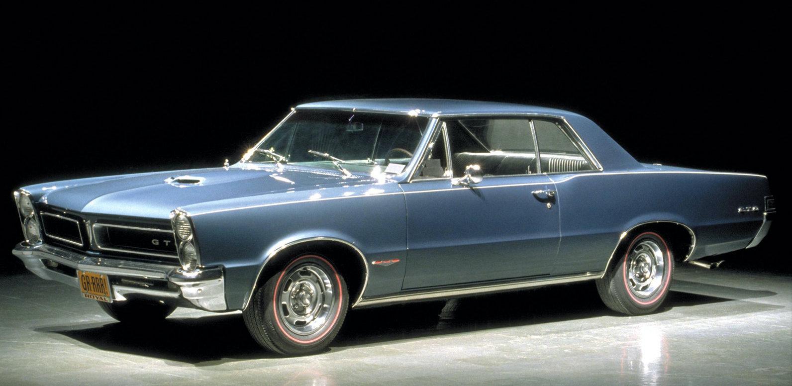 John DeLorean var chefsingenjör för projektet som ledde till Pontiac GTO på 1960-talet.