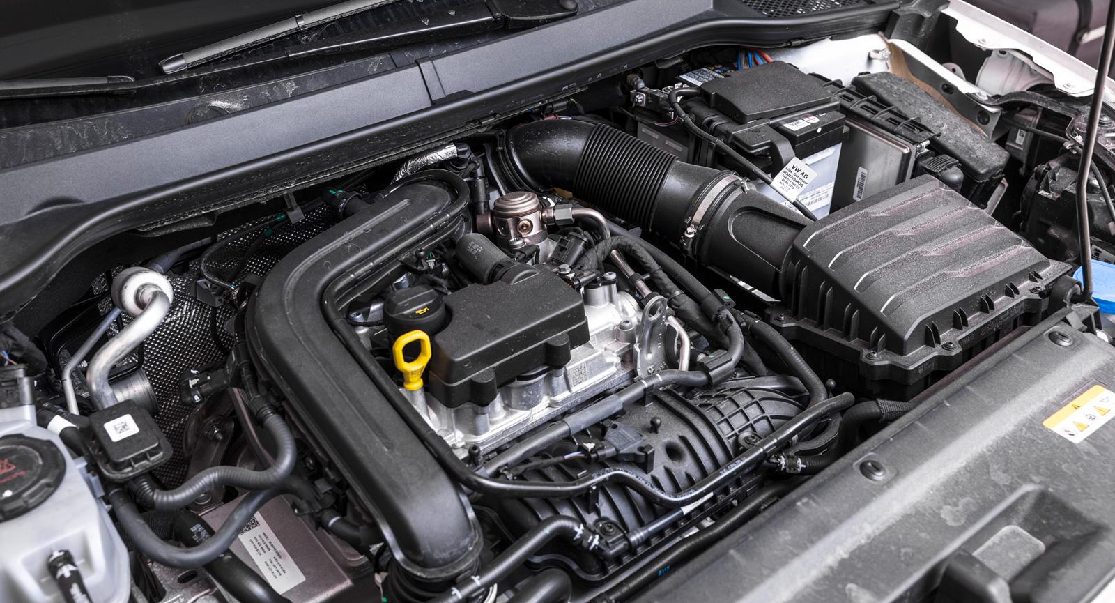 Kontrollerat kaos. Samma motor finns med effektuttag på 110 hästkrafter.