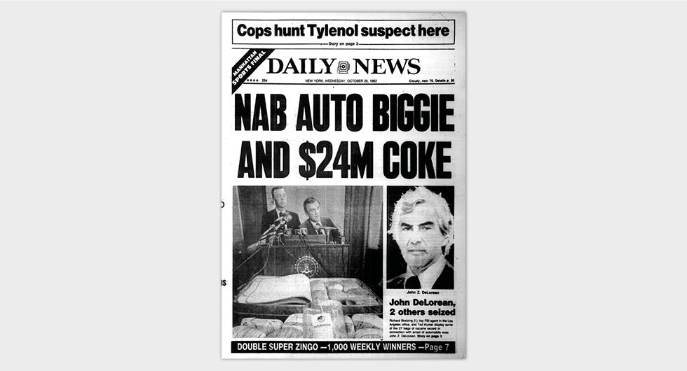 New York Daily News den 20 oktober 1982.