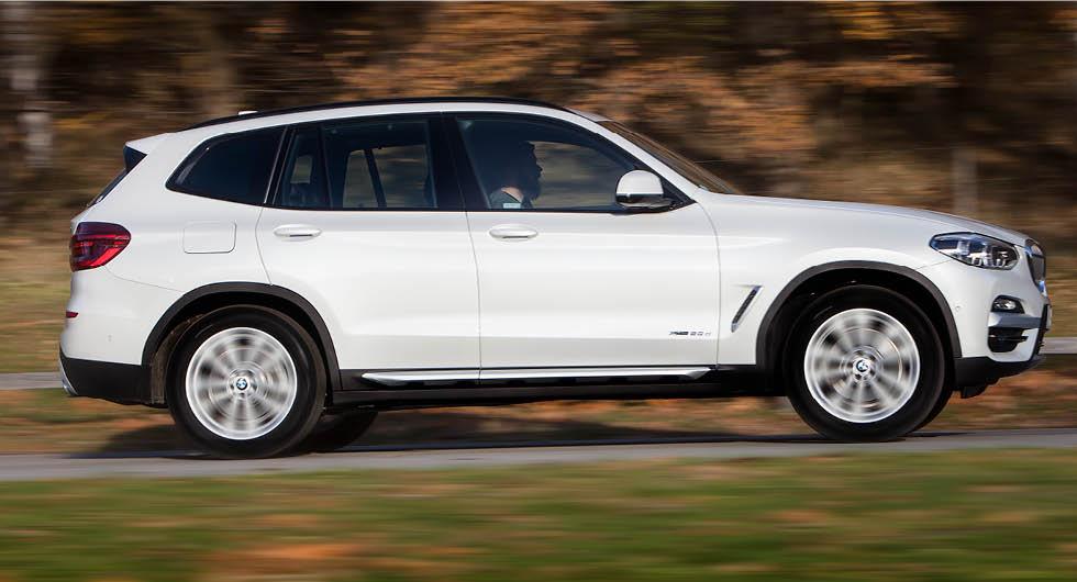BMW X3 är en av modellerna som lyckas bättre än andra i jämförelsen.