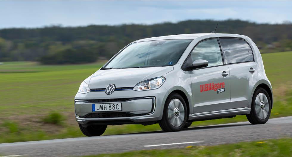 Gamla Volkswagen e-Up sålde bra i Tyskland under första kvartalet.