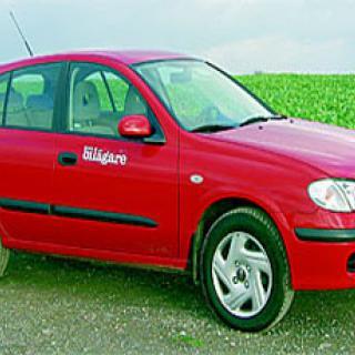 Begtest: Nissan Almera