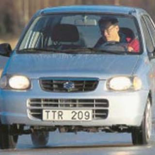 Rosttest: Suzuki Alto 1,1 (2003)