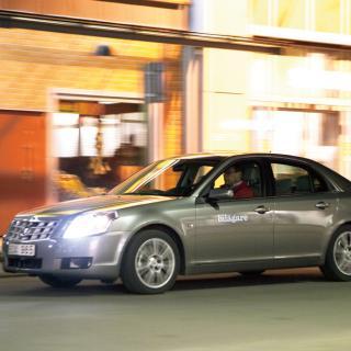 Provkörning: Cadillac BLS Wagon