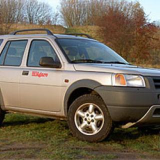 Provkörning: Land Rover Freelander TD4-e