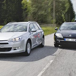 Biltest: Citroën C5, Renault Laguna