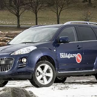 Biltest: Peugeot 4007, Volkswagen Tiguan