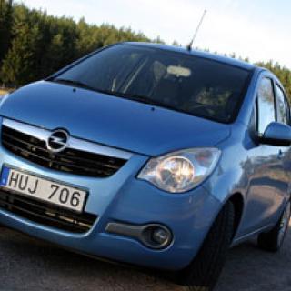 Biltest: Opel Agila, Suzuki Wagon R+
