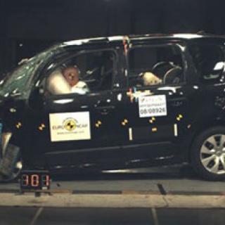 Euro NCAP: Full pott till sju av åtta