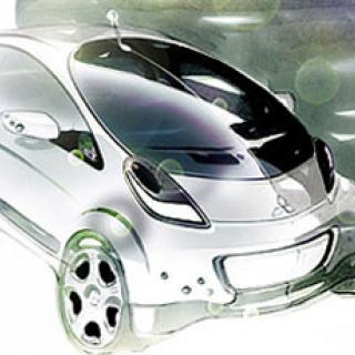 Säljstart för elbilen Mitsubishi i-MiEV