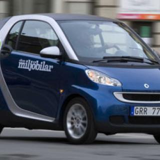 Toyota och Smart släpper ut minst